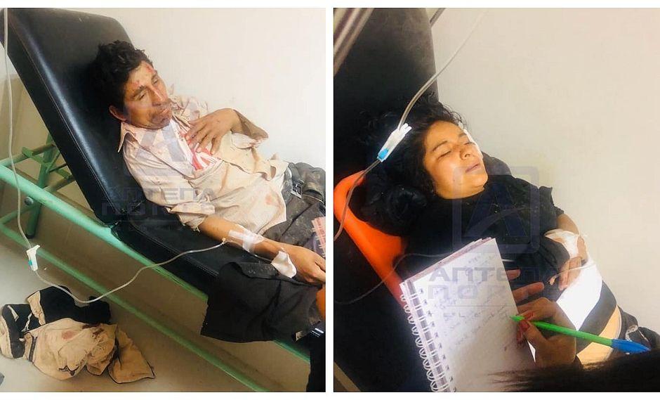 Despiste de camioneta deja siete heridos en Pataz