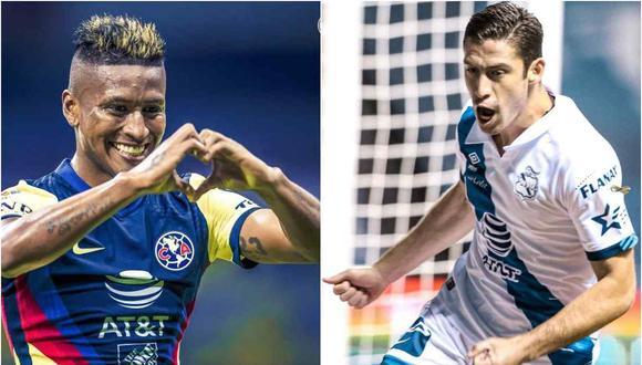 Pedro Aquino y Santiago Ormeño aparecieron en el once de la jornada en la Liga MX. (Foto: Twitter)