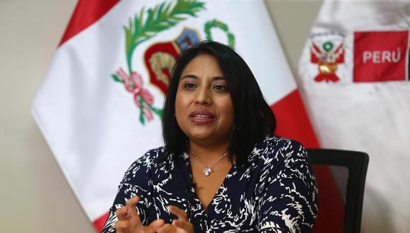 La titular del Ministerio de Justicia y Derechos Humanos aseguró que Vizcarra puede ser investigado por el Ministerio Público. (Foto: GEC)