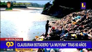 """Tingo María: Clausuran botadero """"La Muyuna"""" tras 60 años"""