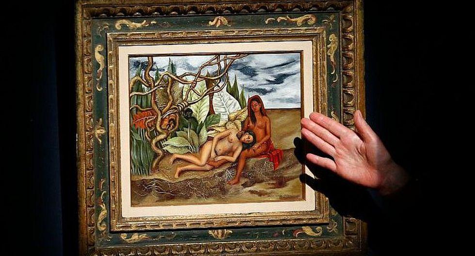 Cuadro de Frida Kahlo subastado en USD 8 millones, un récord