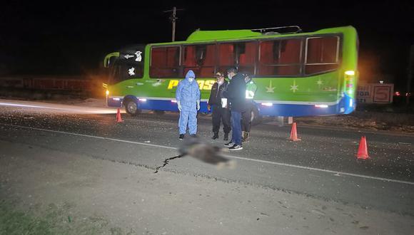 El accidente de tránsito ocurrió la noche del último sábado. (Foto: Difusión)