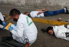 Capturan a dos venezolanos en moto y con arma de fuego en Arequipa (VIDEO)