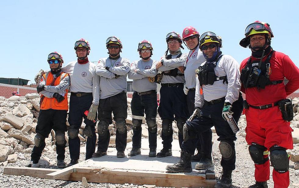 En Tacna preparan a segundo grupo de bomberos rescatistasen catástrofes