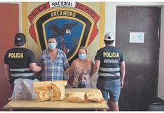 """Capturan a """"Los Walo"""" con droga, en Tumbes"""