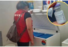 Junín: Contraloría descubre 600 dosis de vacuna almacenadas hace un mes en Red de Salud de Tarma