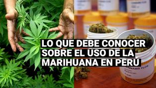 El uso de la marihuana en Perú y qué momento se puede usarlo