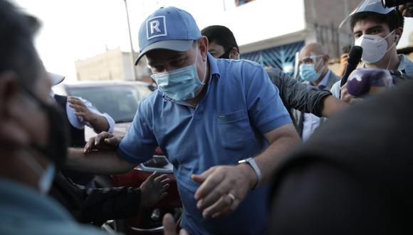 Rafael López Aliaga aseguró que sigue esperando los resultados oficiales finales de las Elecciones 2021. (Foto: GEC)