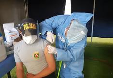 Huancavelica: 70 % de policías ya recibieron las dos dosis de la vacuna Pfizer