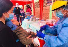 Realizan campaña de vacunación para niños, adultos mayores y gestantes de Lima Sur