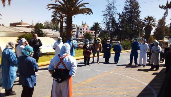 Trabajadores CAS reciben sueldos con días de retraso  Foto: Nelly Hancco
