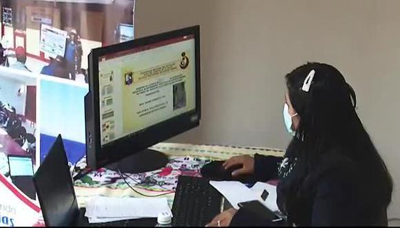 Puno: joven expuso tesis de forma virtual en un tambo y se tituló de nutricionista (Video: Midis)