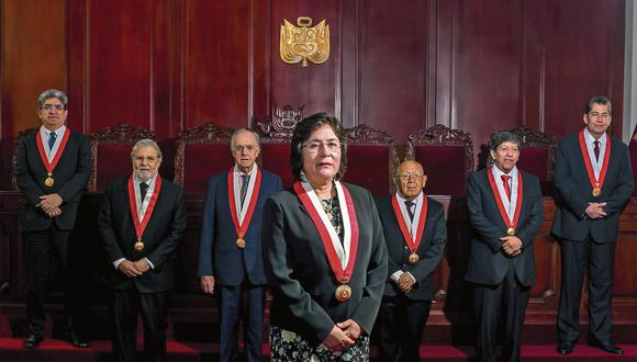 El pleno del Tribunal Constitucional decidió por la improcedencia de la demanda. (Foto: TC)
