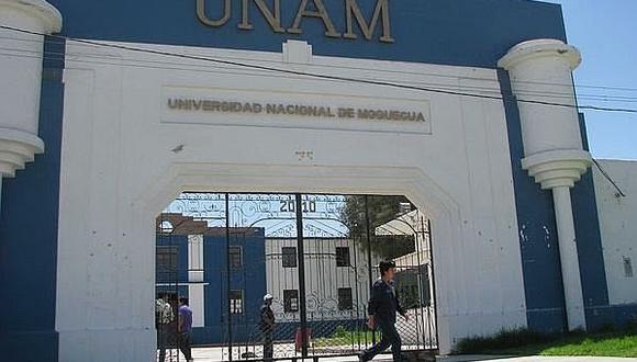 Suspenden labores en universidad de Moquegua debido a protesta