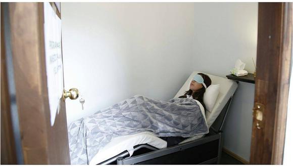 Universidad acondiciona área para que alumnos puedan dormir siesta (FOTOS)