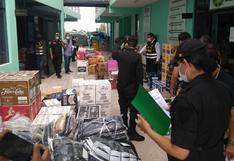 Incautan licores, prendas y vehículos por un millón de soles a presuntos contrabandistas