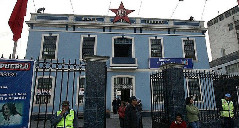 Casa del Pueblo (Foto: Archivo Correo)