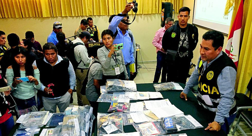 Desarticulan organización criminal que operaba en Puno y Arequipa