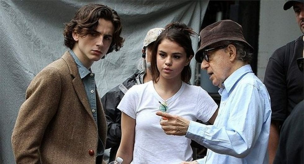"""""""Un día lluvioso en Nueva York"""", la última cinta de Woody Allen"""