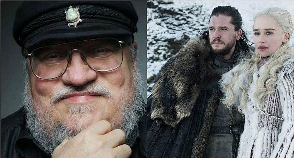 George R. R. Martin aseguró que el final de 'Game of Thrones' no será tan diferente en los libros
