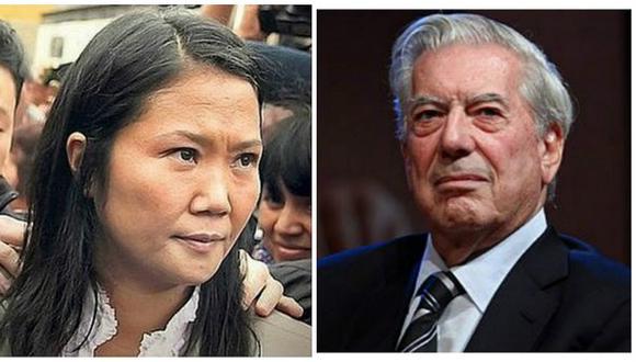 Keiko Fujimori: Mario Vargas Llosa insta a movilizarse contra su candidatura