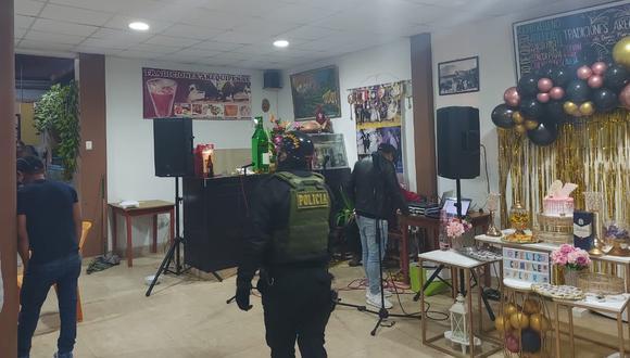 Policía, Ejército y serenazgo de Albarracín allanaron casa donde hacían fiesta de cumpleaños y retienen a 23 infractores a las medidas sanitarias