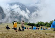 Dominique Fishback y drones en el primer día de grabación de Transformers en Machu Picchu (VIDEO)