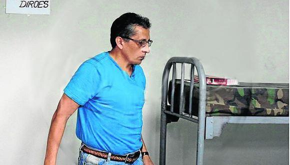 Antauro Humala regresó a Base Naval por la gravedad de sus delitos