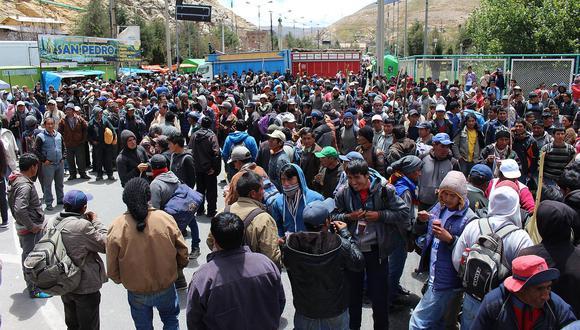 Productores de papa de Huánuco anuncian huelga indefinida desde el 18 de enero