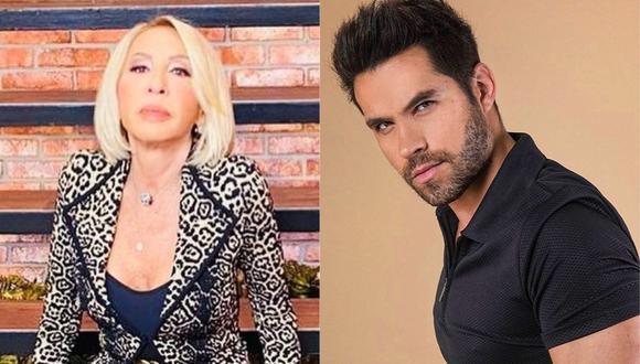 """Laura Bozzo señala que la disculpas de Eleazar Gómez a Stephanie Valenzuela fue un """"show"""". (Foto: Instagram @laurabozzo_of/@eleazargomez333)"""