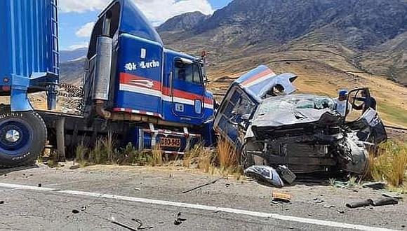 Un muerto y dos heridos de gravedad dejó accidente