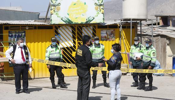 Víctima denunció hace una semana que familias pretendían invadir un extenso terreno detrás de su vivienda. La Policía presume que se trate de una venganza por tráfico de tierras (Foto: Violeta Ayasta / GEC)