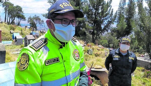 Coronel PNP César Ramos queda como encargado