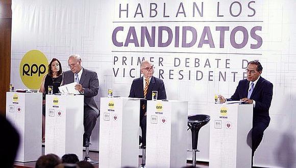 Tres Candidatos a la vicepresidencia expusieron sus propuestas
