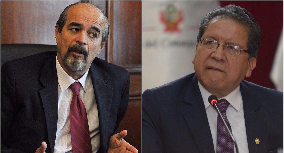 """Mauricio Mulder: """"Denunciar al fiscal de la Nación es respuesta política inmadura"""""""