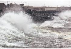 Chimbote: Dan alerta por oleaje de ligero a fuerte en el litoral