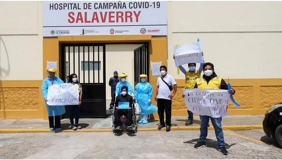 Dos salaverrinos vencen al COVID-19 en La Libertad