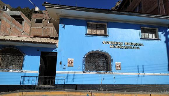 Gobierno Regional de Huancavelica.