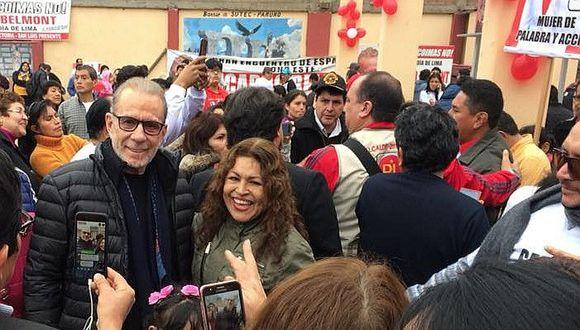 """Ricardo Belmont a población tras bajar en encuestas: """"Yo no voy a llenarte de promesas"""""""