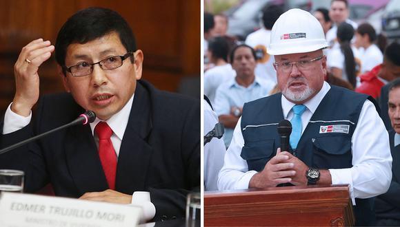 Carlos Bruce y Edmer Trujillo: Esto respondieron hace pocos días sobre su renuncia
