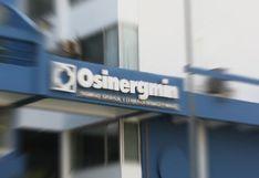 Gobierno amplía por 30 días más la reorganización del Osinergmin