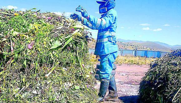 Comuna puneña recoge residuos sólidos de hoteles de la ciudad