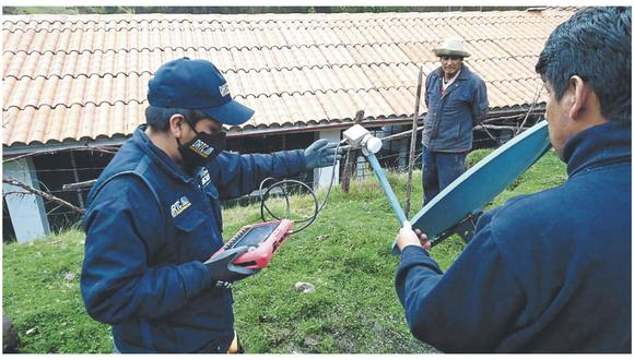 Estudiantes de colegios en Lucma y Pomabamba presentaban problemas para desarrollar sus clases a distancia.