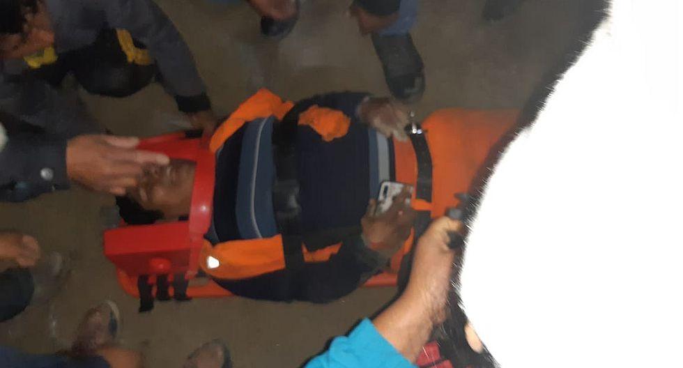 Cisterna con petróleo cae a un abismo de 200 metros y deja un muerto