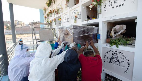 Minsa actualizó cifra de fallecidos por COVID-19. (Foto referencial: archivo de AFP/  José Sotomayor Jiménez)