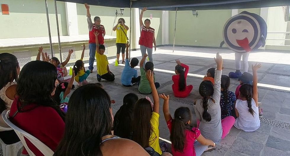 Qali Warma enseña a los niños y niñas a prevenir la anemia