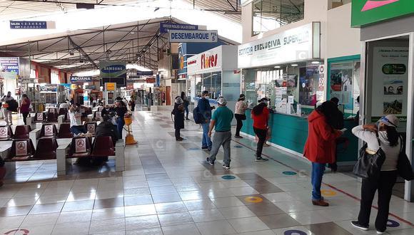 Buses partieron a Lima pese a cuarentena en Tacna