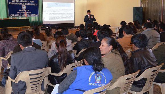 """Proyecto """"Nutrición"""" del Gobierno Regional de Puno deja impagos a 28 trabajadores"""