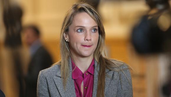 Actualmente, Luciana León tiene una orden de impedimento de salida del país en su contra por el plazo de 36 meses. (Foto: GEC)