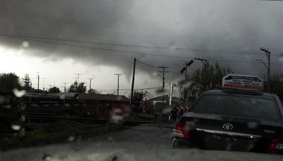 Tornado deja 200 personas y 50 viviendas afectadas al sur de Chile